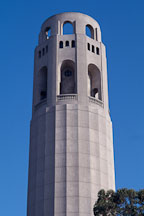 Top of Coit Tower, San Francisco, California, USA. - Photo #1160