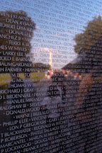 Vietnam Veteran's Memorial Wall. Washington, D.C. - Photo #1805