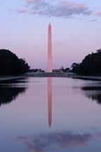 Washington Monument and reflecting pool. Washington, D.C. - Photo #1820