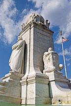 Christopher Columbus Memorial Fountain at Union Station. Washington, D.C., USA.Union Station. Washington, D.C., USA. - Photo #11203