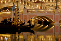 Canals at the Venetian. Las Vegas, Nevada, USA. - Photo #13503