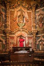 West transept of Mission San Xavier Del Bac, Tucson Arizona. - Photo #47203