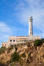 Lighthouse on Alcatraz Island. - Photo #28930