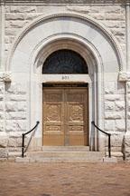 Bronze bank doors. Washington, D.C. - Photo #29330