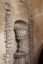 Bone chalice. Sedlec, Czech Republic. - Photo #29835