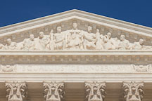 Equal justice under law. US Supreme Court building, Washington, D.C. - Photo #29167