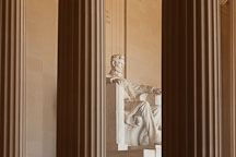 Pillars at the Lincoln Memorial. Washington, D.C. - Photo #29086