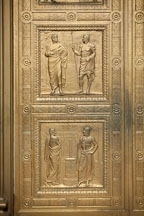 Praetor's Edict and Shield of Achilles. Supreme Court, Washington, D.C. - Photo #29171