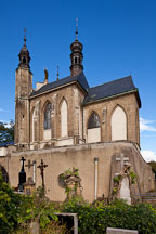 Roman Catholic chapel containing the Sedlec ossuary. Kutna Hora, Czech Republic. - Photo #29776