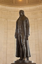 Statue of Thomas Jefferson. Jefferson Memorial, Washington, D.C. - Photo #29101