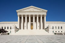 US Supreme Court building. Washington, D.C. - Photo #29196
