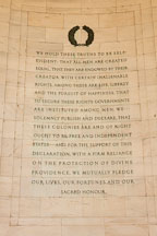 We hold these truths to be self-evident. Jefferson Memorial, Washington, D.C. - Photo #29112