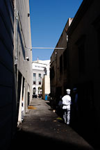 Alley. Beverly Hills, California, USA. - Photo #7131