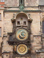 Astronomical clock. Prague, Czech Republic. - Photo #29631