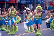Dancers. Carnaval's grand parade. San Francisco. - Photo #1131