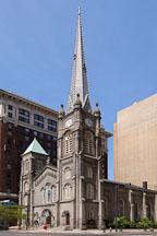 Old stone church. Cleveland, Ohio, USA. - Photo #4131