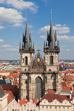 Tyn Church. Prague, Czech Republic. - Photo #30231