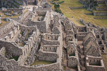 Visitor's houses. Machu Picchu, Peru. - Photo #9931