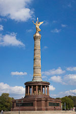 Berlin Victory Column. Berlin, Germany. - Photo #30579