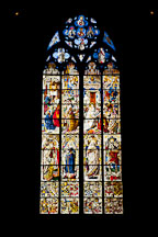 Cologne Cathedral stained glass. Cologne, Germany. - Photo #30710