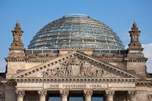 Dome atop the Reichstag. Berlin, Germany. - Photo #30598