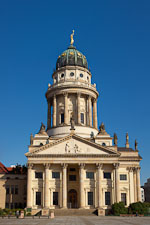French Cathedral in the Gendarmenmarkt square. Berlin, Germany. - Photo #30515