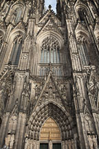 Front of the Koln Cathedral. Koln, Germany. - Photo #30670
