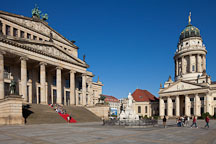 Gendarmenmarkt Square. Berlin, Germany. - Photo #30489