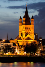 Gross St Martin church. Cologne, Germany. - Photo #30751