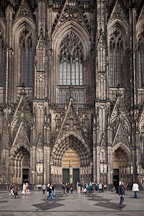 Koln Cathedral entrance. Cologne, Germany. - Photo #30677