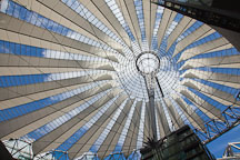 Sony Center roof. Berlin, Germany. - Photo #30566