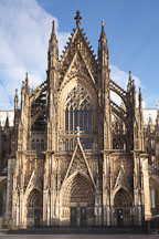 South transept facade of the Cologne Cathedral. Cologne, Germany. - Photo #30800