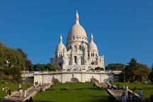The Basilica of Sacre-Coeur. Paris, France. - Photo #31832
