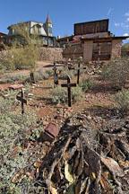 Graveyard. Goldfield, Phoenix, Arizona, USA. - Photo #5532
