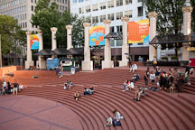 Pioneer Courthouse Square. Portland, Oregon. - Photo #28232