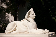 Sphinx at the Rosicrucian Eygptian Museum. San Jose, California. - Photo #21932