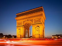 Arc de Triomphe. Paris, France. - Photo #31158