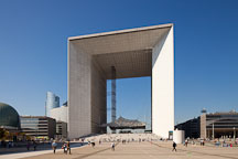 La Grande Arche. Paris, France. - Photo #31912