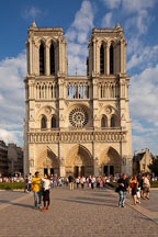 Notre Dame Cathedral. Paris, France. - Photo #31313