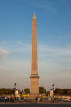Obelisk at the Place de la Concorde. Paris, France. - Photo #31121