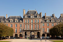 Place des Vosges. Paris, France. - Photo #31207