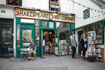 Shakespeare and Company bookstore. Paris, France. - Photo #31571