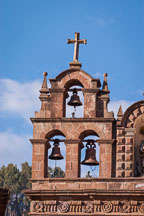 Bells atop the Cathedral. Cusco, Peru. - Photo #9233