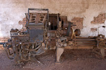 Linotype model 31. Goldfield, Phoenix, Arizona, USA. - Photo #5533