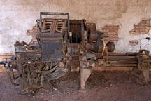 Linotype model 31. Goldfield, Phoenix, Arizona, USA. - Photo #5533