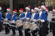 Marching band. San Jose Holiday Parade. San Jose, California, USA. - Photo #5133