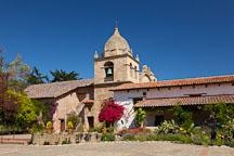 Mission San Carlos Borromeo de Carmelo. Carmel, California. - Photo #26833