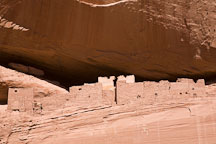Upper structure of the White House Ruin. Canyon de Chelly NM, Arizona. - Photo #18233