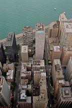 Chicago as viewed from the Hancock Observatory. Chicago, Illinois, USA. - Photo #10733
