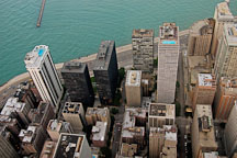 Chicago as viewed from the Hancock Observatory. Chicago, Illinois, USA. - Photo #10734